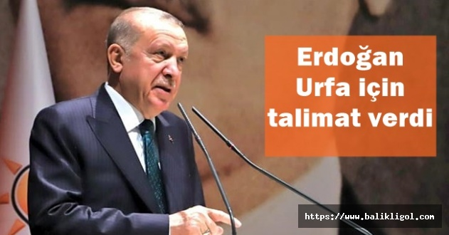 İl Başkanı Kırıkçı Sorunu İletti, Erdoğan Urfa Sorunları İçin Özel Talimat Verdi