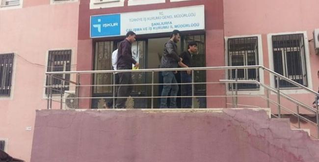 İŞKUR memurlarını darp eden 5 kişi tutuklandı