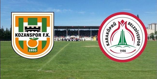 Kozan Spor FK Karaköprü Belediyespor 3 - 1