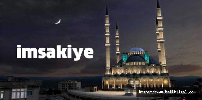 Ramazan Ayı Şanlıurfa'da iftar ve sahur saatleri-2021