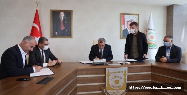 Şanlıurfa büyükşehir belediyesi toplu iş sözleşmesi imzaladı