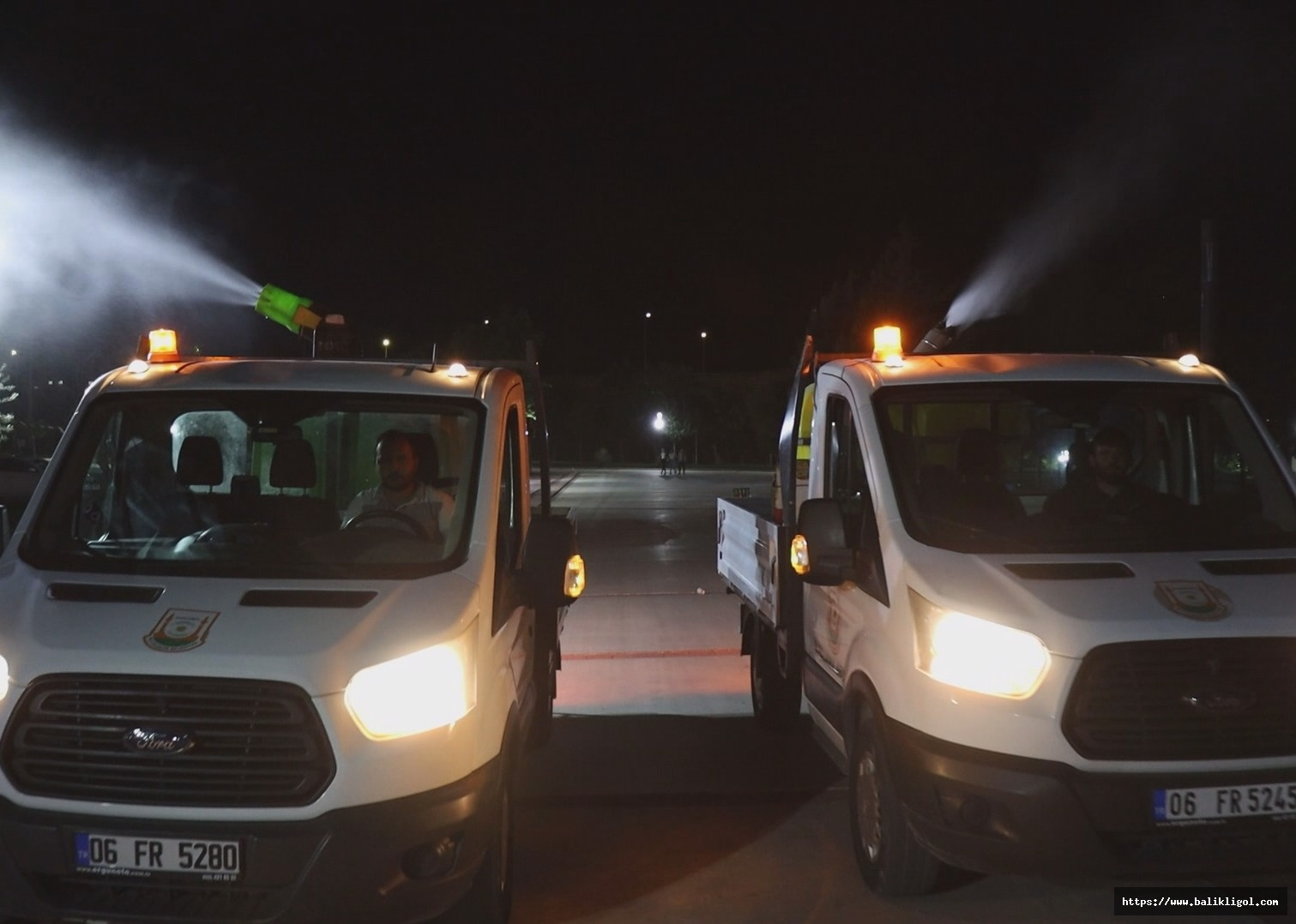 Urfa'da artan sıcaklarla birlikte haşere ilaçlamaları yapılmaya başlandı