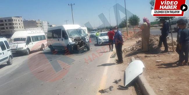 Urfa'da mevsimlik işçileri kaza yaptılar
