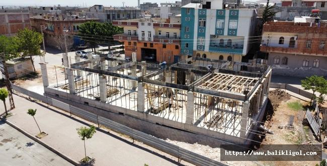 Eyyübiye Süleyman Şah Gençlik merkezinde çalışmalar sürüyor