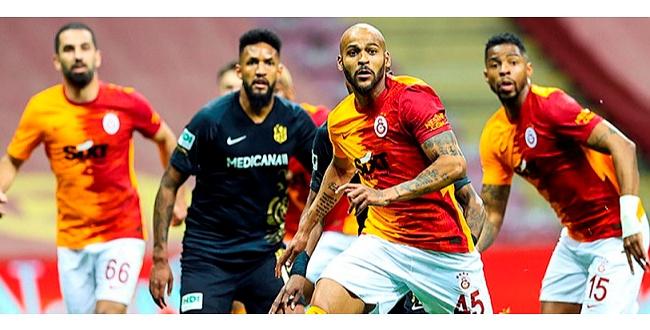 Galatasaray Yeni Malatyaspor'u mağlup etti, ligi ikinci tamamladı