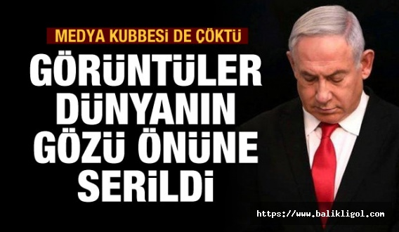 İsrail'de Demir Kubbeden sonra medya kubbesi de çöktü