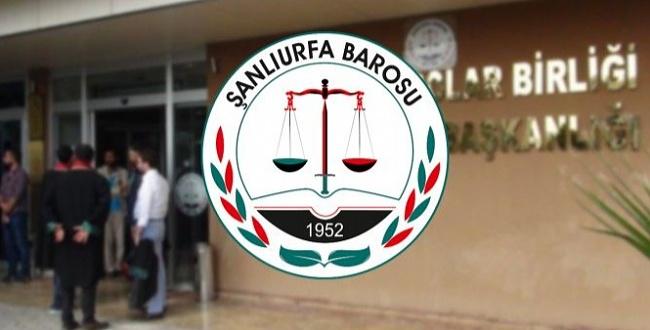 Şanlıurfa Barosu, Peker'in iddialarıyla ilgili suç duyurusunda bulundu