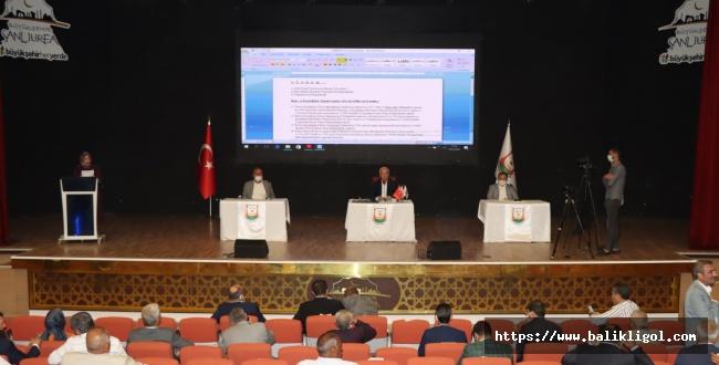 Şanlıurfa Büyükşehir Belediye Meclisi İsrail'i kınadı
