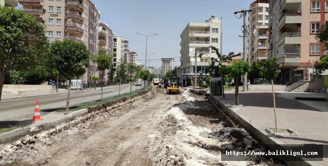 Şanlıurfa Büyükşehir'den Çöken Yolda Sil Baştan Düzenleme