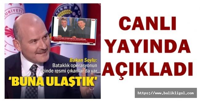 Sedat Peker'in Vidosundan Sonra İçişleri Bakanı Soylu Canlı Yatında Açıkladı: operasyonu içerisinde FETÖ var