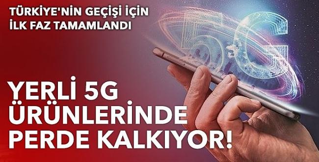 Türkiye'de 5G Ürünleri Tanıtıma Çıkıyor