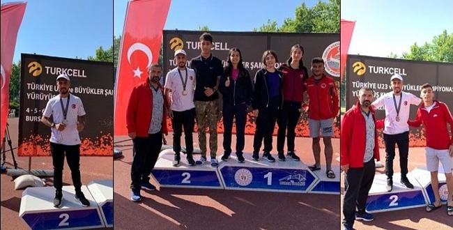 Şanlıurfalı Sporcu Can 5 Bin Metrede Türkiye İkincisi Oldu