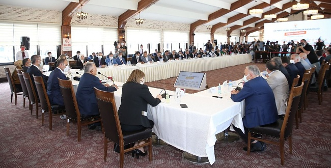 AK Parti Belediyeleri İstişare Toplantısı Kayseri'de yapıldı