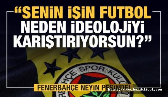 Fenerbahçe neyin peşinde? Spor ile uğraşacağına...