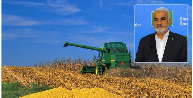 HÜDA PAR lideri Yapıcıoğlu: Tarım politikalarında ciddi bir zihniyet değişimine ihtiyaç vardır