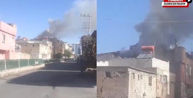 Sancaktar'da ev yangını: Dumanlar metrelerce yükseldi