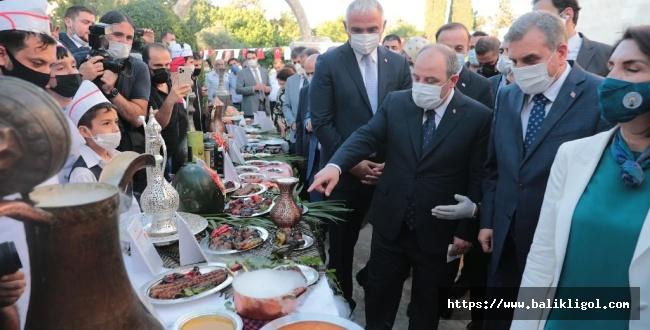 Urfa Gastronomi Merkezi görkemli bir törenle açıldı