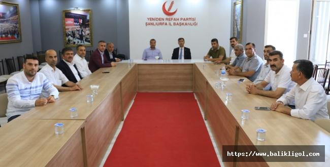AK Parti İl Başkanı Kırıkçı'dan Siyasi Parti ve STK'lara ziyaret