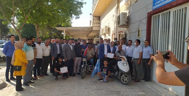 DEVA Partisi Eyyübiye Mahalle Temsilcilerini belirledi