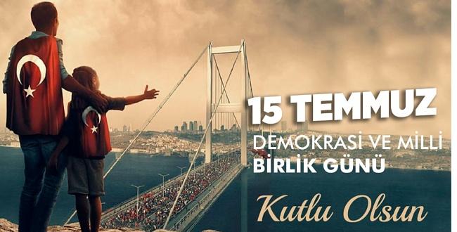 Eyyübiye Belediye Başkanı Mehmet Kuş'tan 15 Temmuz Mesajı