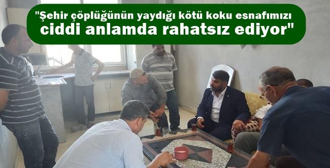 HÜDA PAR ilçe başkanı Osman Gülebak: Eyyübiye'ye 2. sınıf muamelesi yapmayın