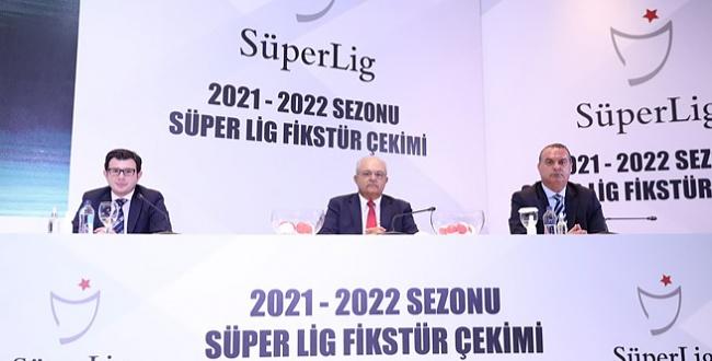 İşte 2021-2022 Sezonu Süper Lig fikstürü