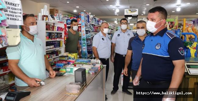 Karaköprü'de Zabıta Ekipleri Bayram öncesi denetimine çıktı