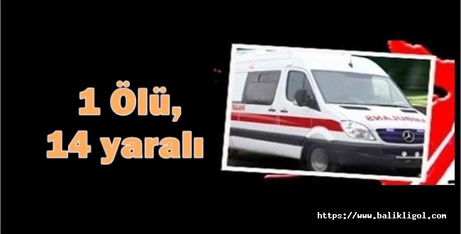 Konya'da kaza yapan Urfalı tarım işçilerinden 1 kişi öldü