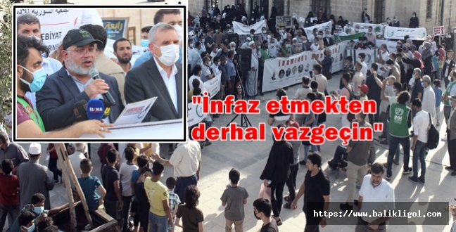 Şanlıurfa'dan Darbeci Sisi'nin idam kararına karşı sert tepki