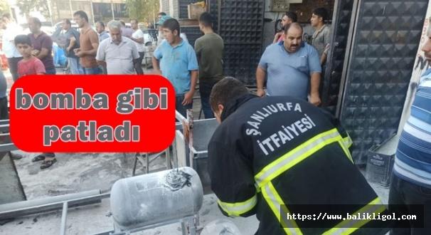 Suruç'ta LPG deposu patladı:Çok sayıda yaralı