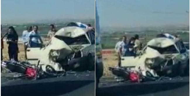 Aligör'de yine kaza: 1 ölü 2 yaralı