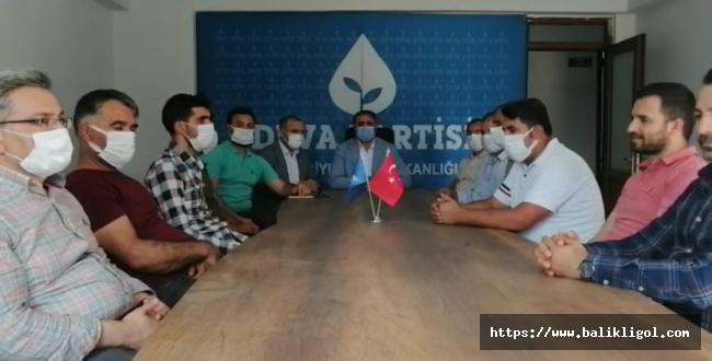 Urfa'daki boğulma ve intihar vakaları için araştırma komisyonu kurulmasını önerdi