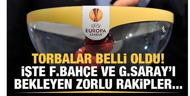 Avrupa Ligi play-off sonrası  GS ve FB'nin muhtemel rakipleri belli oldu!