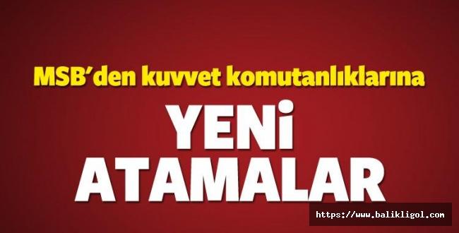 Erdoğan'ın İmzasıyla Resmi Gazete'de yayımlandı! Kuvvet Komutanlıklarına yeni atamalar!