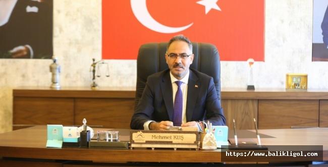 Eyyübiye Belediye Başkanı Kuş, Zafer Bayramı dolayısıyla kutlama mesajı yayımladı