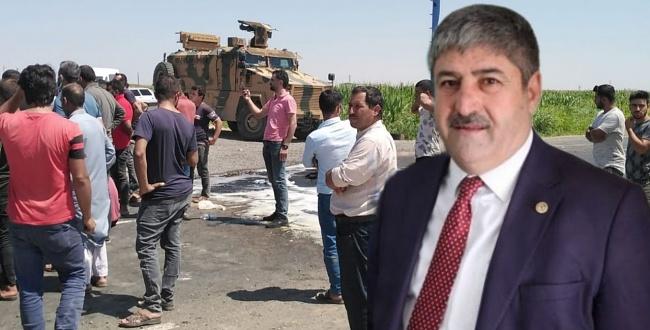 Eyyüpoğlu: Askerimiz ile çiftçiler karşı karşıya getiriliyor