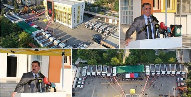 Karaköprü Belediyesi yeni iş makinaları aldı
