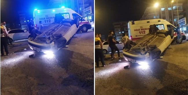 Şanlıurfa'da akıl almaz kaza: 2 yaralı