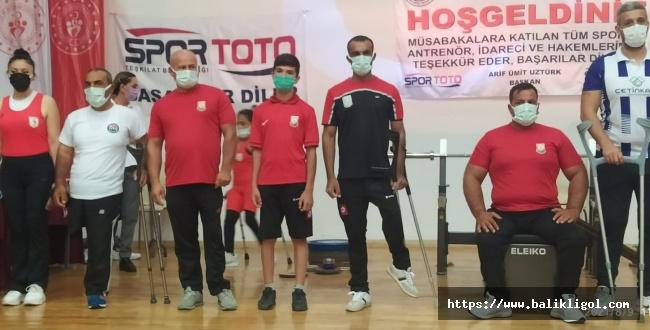 Şanlıurfalı Halterciler Şampiyonaya Damga Vurdu