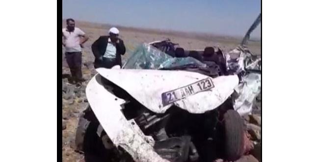 Siverek'te feci trafik kazası: 1 ölü