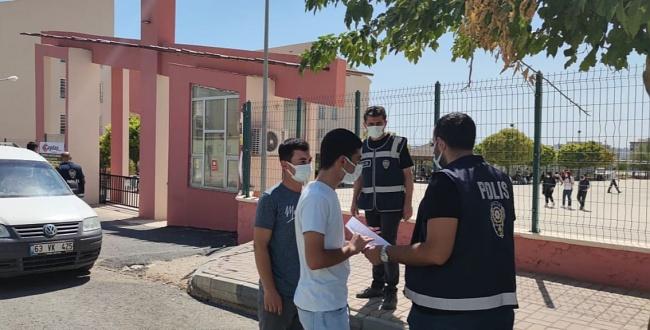 Şanlıurfa'da polis okulları güvenlik çemberine aldı