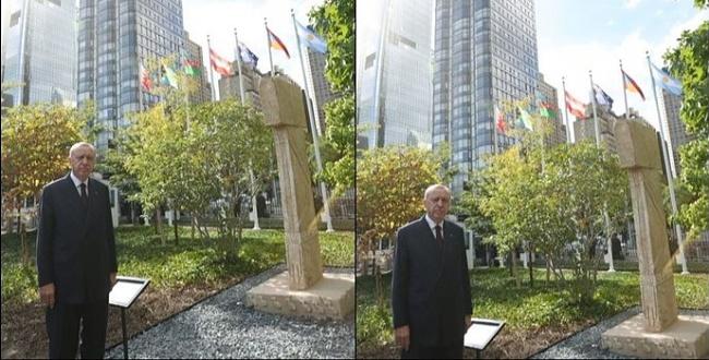 ABD'nin merkezine göbeklitepe anıtı