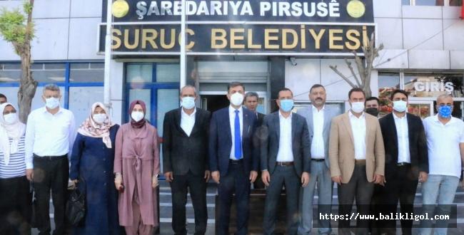 AK Parti İl Başkanı Kırıkçı: Suruç 2023 ve 2024 Hedeflerimize Hazır