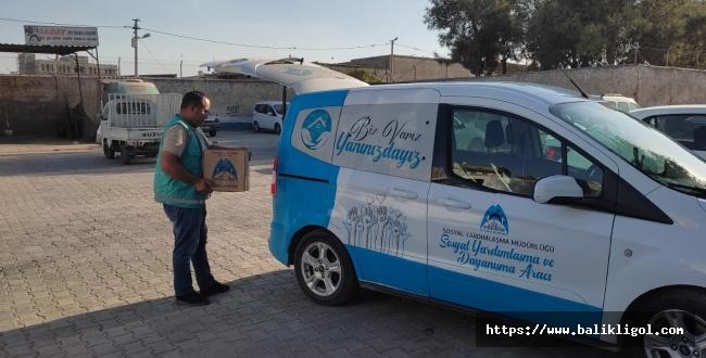 Eyyübiye'de Çölyak hastalarına glütensiz gıda paketi dağıtıldı