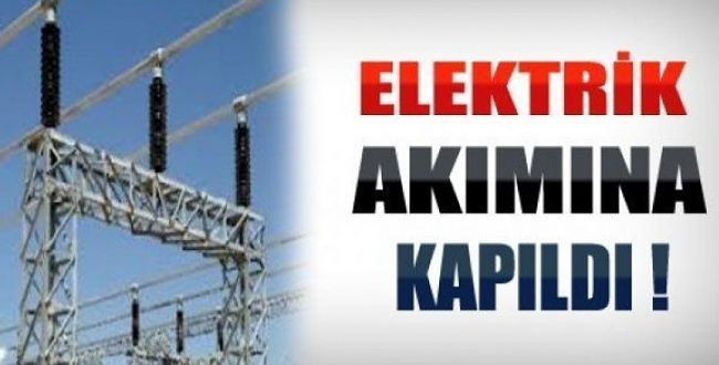 Karaköprü'de elektrik akımına kapıldı hayatını kaybetti