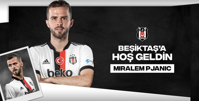 Miralem Pjanic Beşiktaş'ta