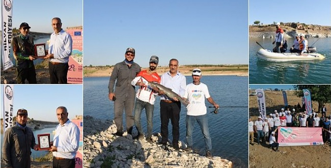 Olta Balıkçıları Hilvan'da buluştu