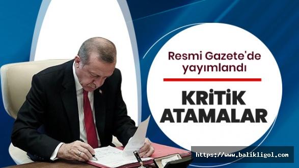 Resmi Gazetede Yayımlandı! AFAD Başkanlığına Kırıkkale Valisi atandı
