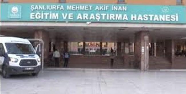 Şanlıurfa Akif İnan Hastanesi'nden güvenlik açıklaması