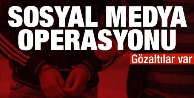 Şanlıurfa'da sosyal medya operasyonu: 3 gözaltı